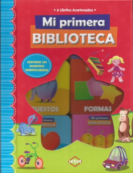 MI PRIMERA BIBLIOTECA 6 LIBRITOS ACARTON