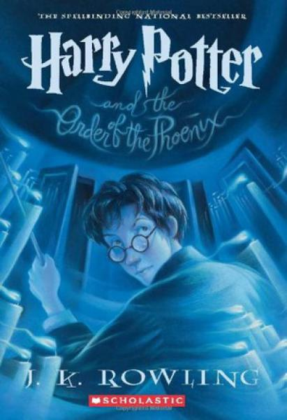 HARRY POTTER 5:THE ORDER OF THE POENIX