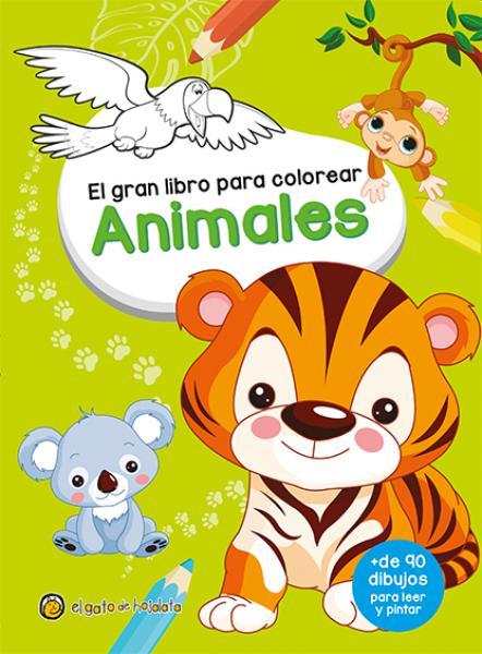 EL GRAN LIBRO PARA COLOREAR ANIMALES