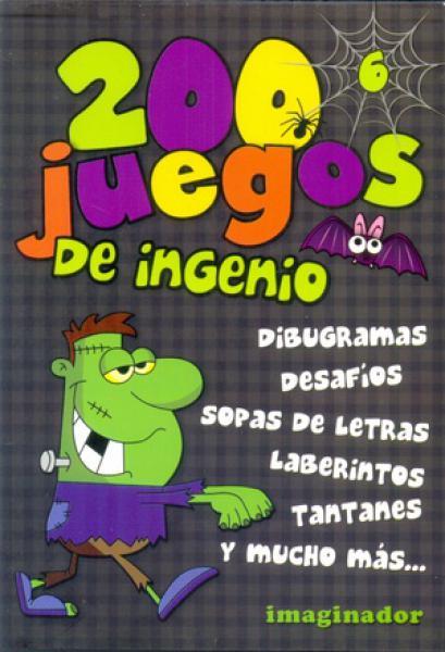 200 JUEGOS DE INGENIO 6