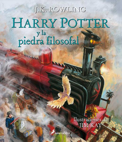 HARRY POTTER 1 - ILUSTRADO TD