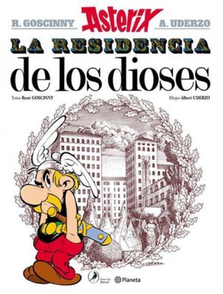 ASTERIX 17 - LA RESIDENCIA DE LOS DIOS