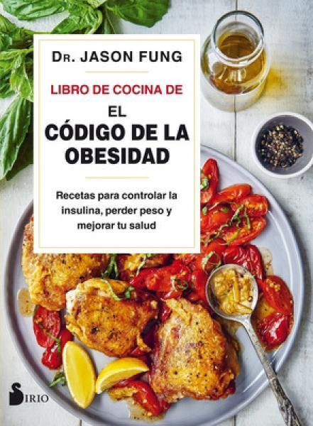 LIBRO DE COCINA DE EL CODIGO DE LA OBESI