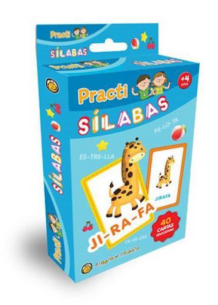 PRACTI SILABAS - 40 CARTAS EDUCATIVAS