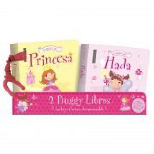BUGGY LIBROS X 2 ( HADA + PRINCESA )