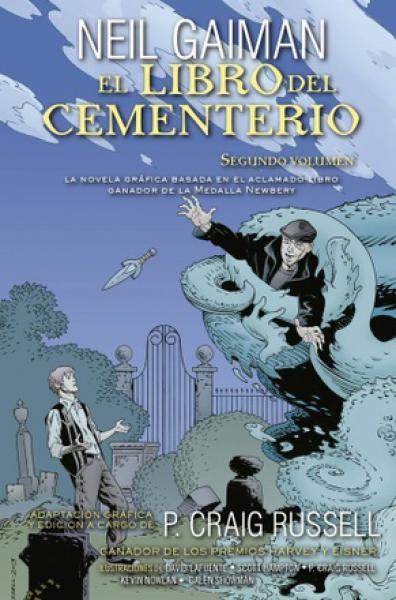 LIBRO DEL CEMENTERIO II (NOVELA GRAFICA)