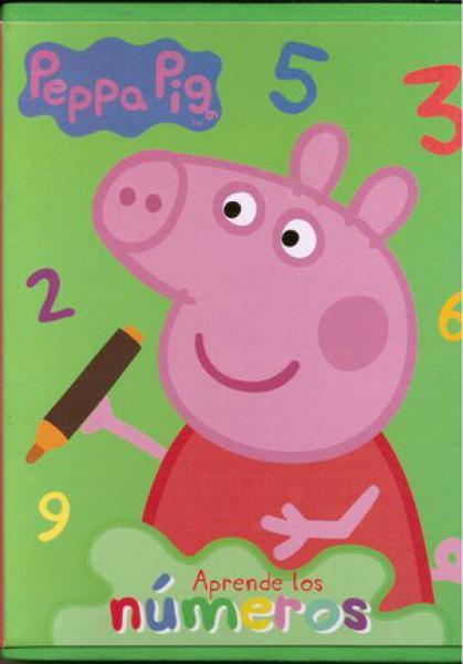 APRENDE LOS NUMEROS PEPPA PIG