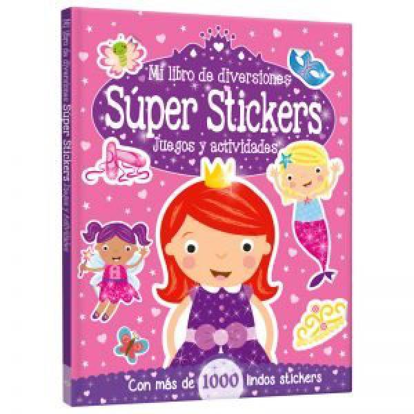 MI LIBRO DE DIVERSIONES SUPER STICKERS