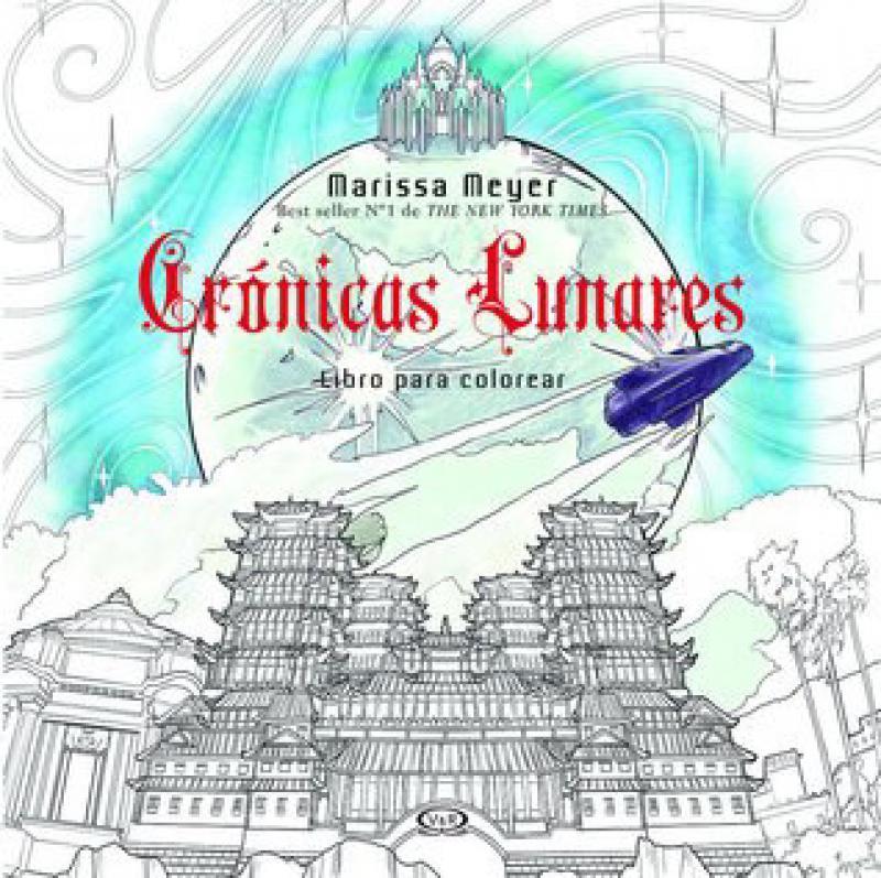 CRONICAS LUNARES - LIBRO PARA COLOREAR