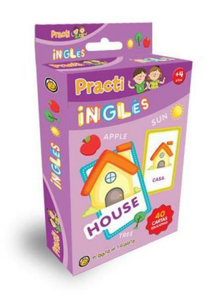 PRACTI INGLES - 40 CARTAS EDUCATIVAS