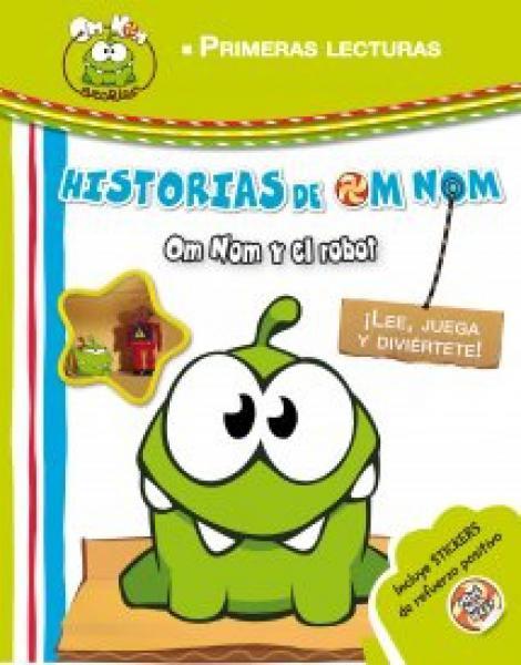 OM NOM Y EL ROBOT