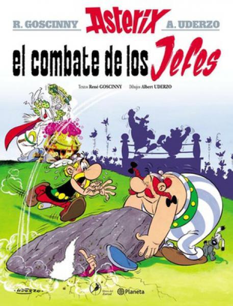 ASTERIX 7 - EL COMBATE DE LOS JEFES