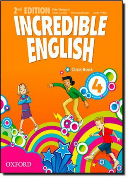 INCREDIBLE ENGLISH 4 - SB - ( 2ªED. )