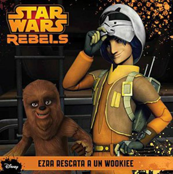 STAR WARS REBELS - EZRA RESCATA A UN WOO