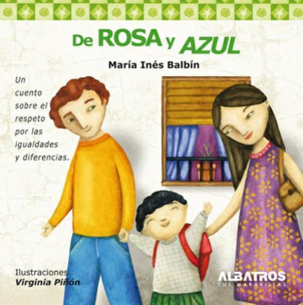 DE ROSA Y AZUL