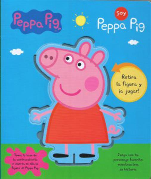 PEPPA PIG - RETIRA LA FIGURA Y ¡A JUGAR!