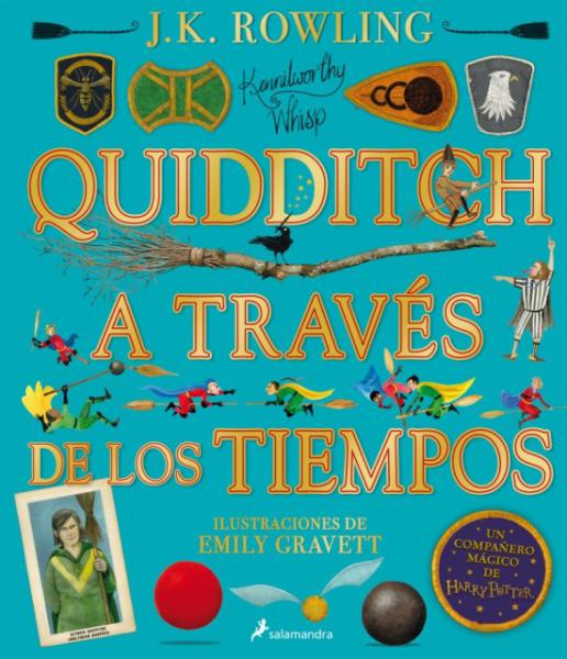 QUIDDITCH A TRAVES... ILUSTRADO PREVENTA