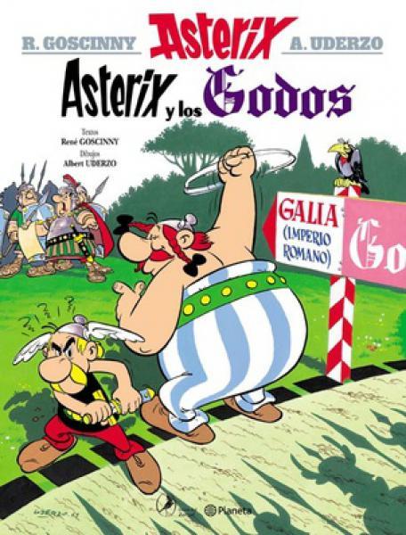 ASTERIX 3 - ASTERIX Y LOS GODOS