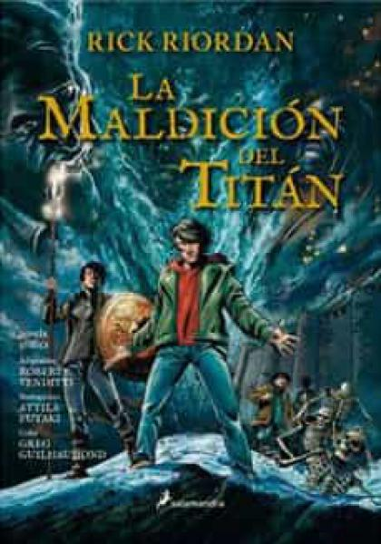 LA MALDICION DEL TITAN (COMIC)