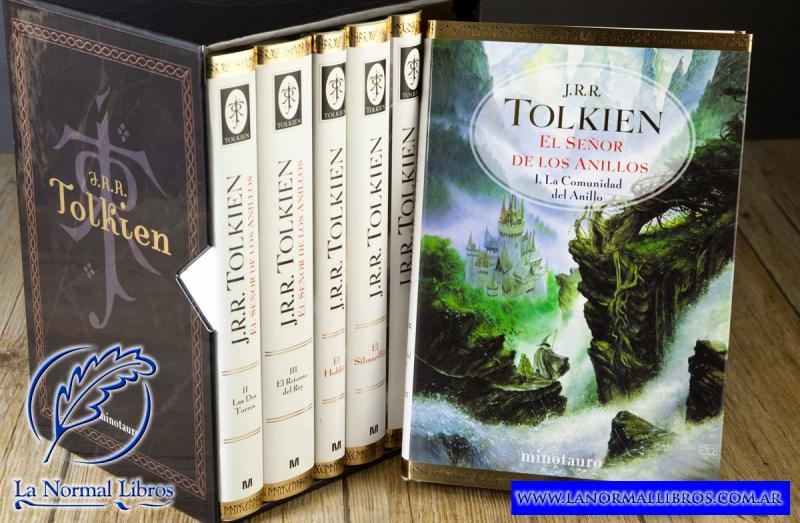 TOLKIEN - ESTUCHE 6 VOLUMENES + MAPA