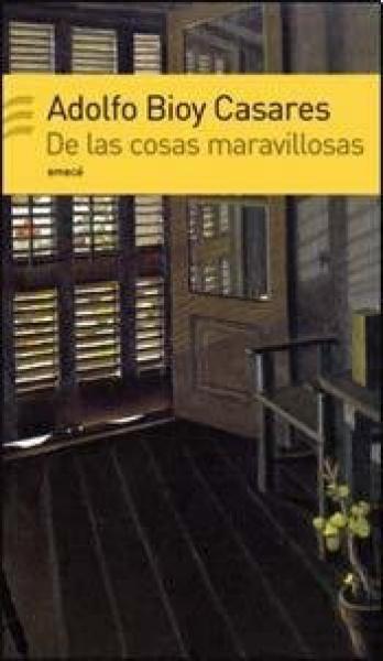 DE LAS COSAS MARAVILLOSAS