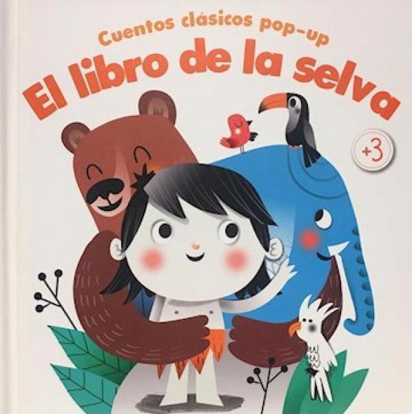 LIBRO DE LA SELVA CUENTOS CLASICOS POP-U