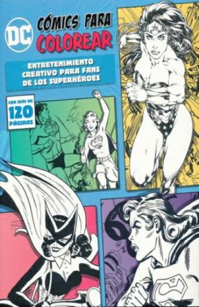 DC COMICS PARA COLOREAR HEROINAS