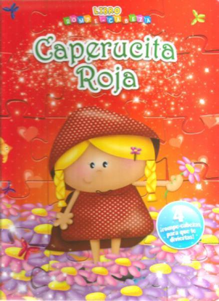 CAPERUCITA ROJA ROMPECABEZAS DE CARTON