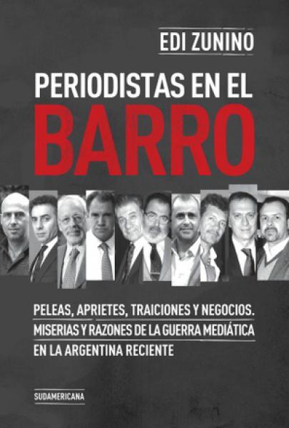 PERIODISTAS EN EL BARRO