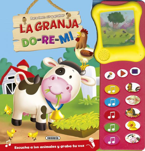 GRANJA DO RE MI PARA LEER, OIR Y GRABAR