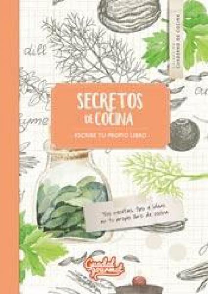 SECRETOS DE COCINA LIBRO NARANJA