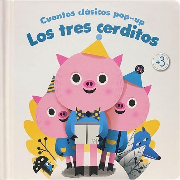 TRES CERDITOS CUENTOS CLASICOS POP-UP
