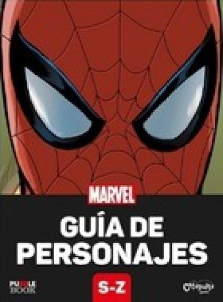 GUIA DE PERSONAJES MARVEL S-Z
