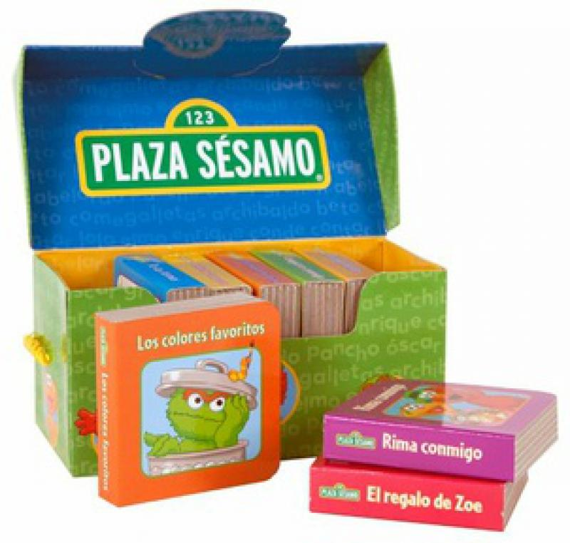 PLAZA SESAMO - BLOCK DE LIBROS