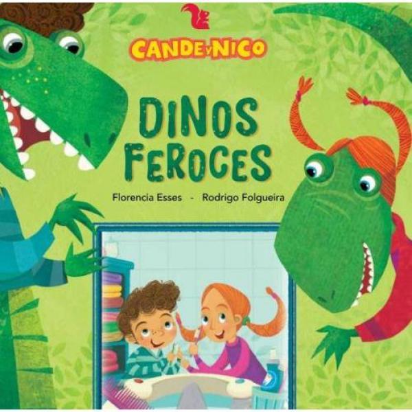 CANDE Y NICO - DINOS FEROCES