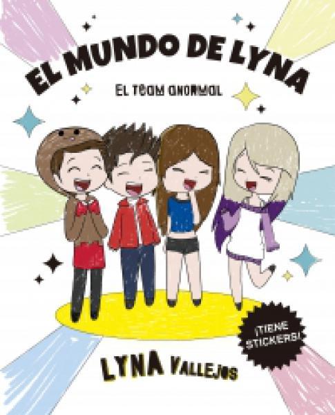 EL MUNDO DE LYNA -(PARA COLOREAR)