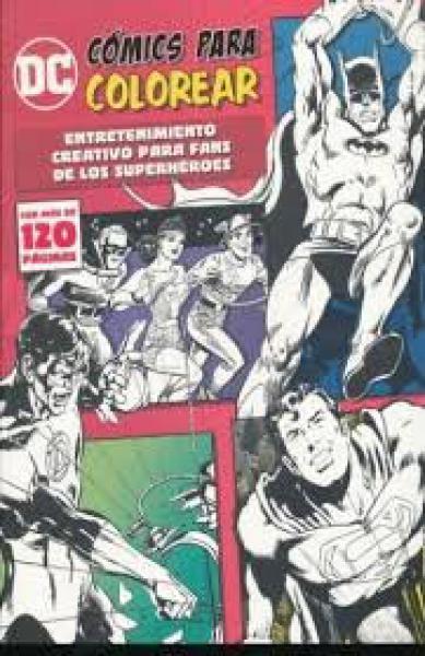 DC COMICS PARA COLOREAR HEROES