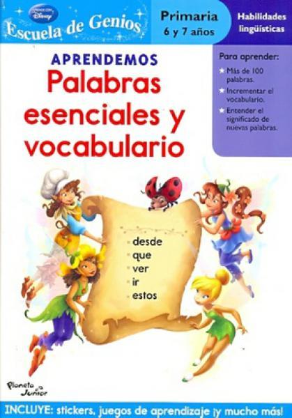 APRENDEMOS PALABRAS ESENCIALES Y HADAS