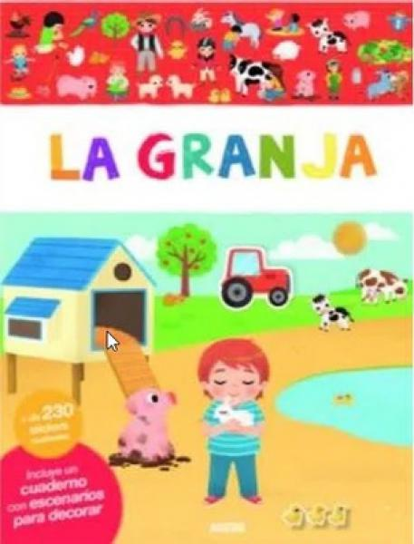 LA GRANJA (230 STICKERS REUTILIZABLE)