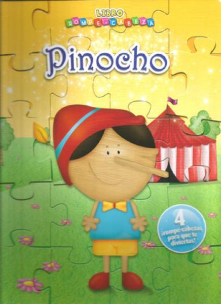 PINOCHO - ROMPECABEZAS DE CARTON
