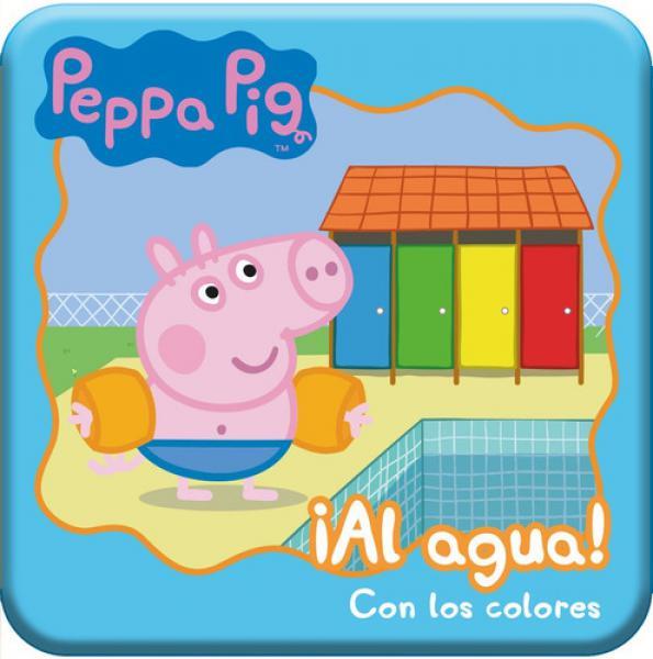 PEPPA PIG AL AGUA CON LOS COLORES