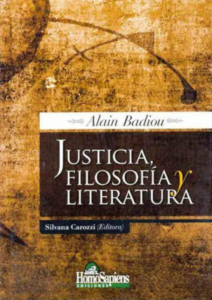 JUSTICIA, FILOSOFIA Y LITERATURA