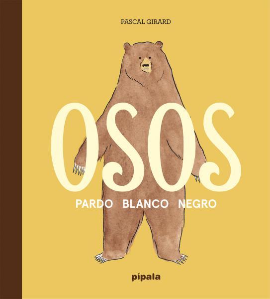 OSOS - PARDO BLANCO NEGRO