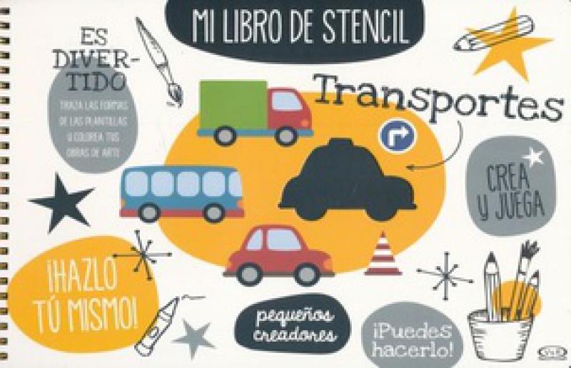 MI LIBRO DE STENCIL TRANSPORTES
