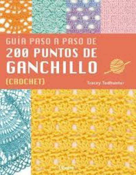 200 PUNTOS DE GANCHILLO (CROCHET) GUIA..
