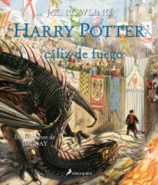 HARRY POTTER 4 Y EL CALIZ D..(ILUSTRADO)