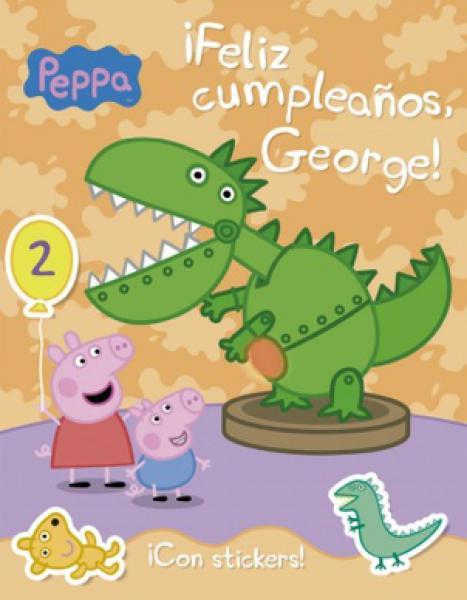 PEPPA PIG  FELIZ CUMPLEAÑOS GEORGE
