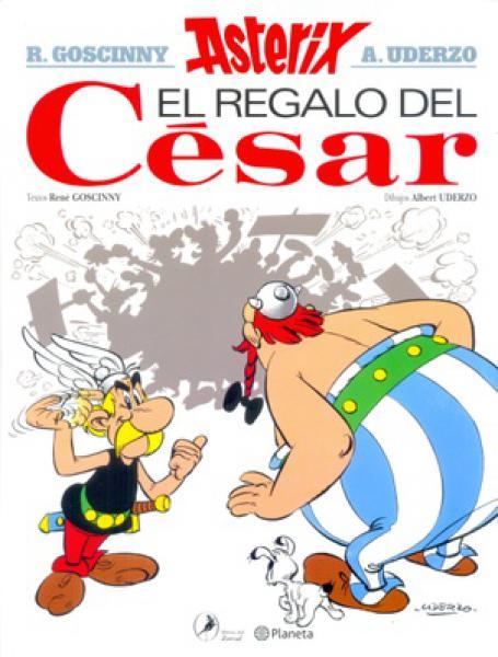 ASTERIX 21 - EL REGALO DEL CESAR