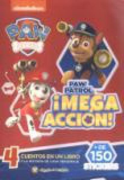 PAW PATROL - MEGA ACCION
