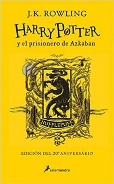 HARRY POTTER 3 - 20º HUFFLEPUFF